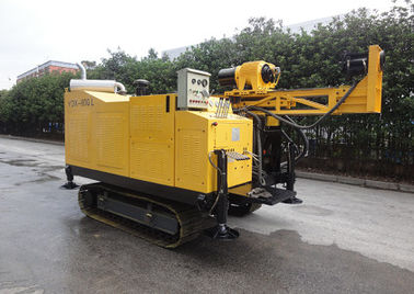 Diamond Machine Underground Core Drill Rig Long Feeding Stroke Crawler Chassis Flexible Operation